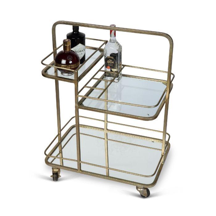 3 tier drinks trolley