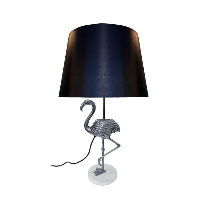 Flamingo Table Lamp  In Silver Finish