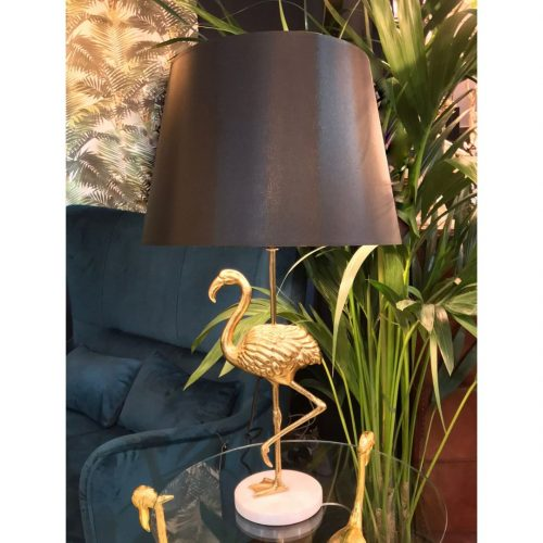 Flaming Table Lamp