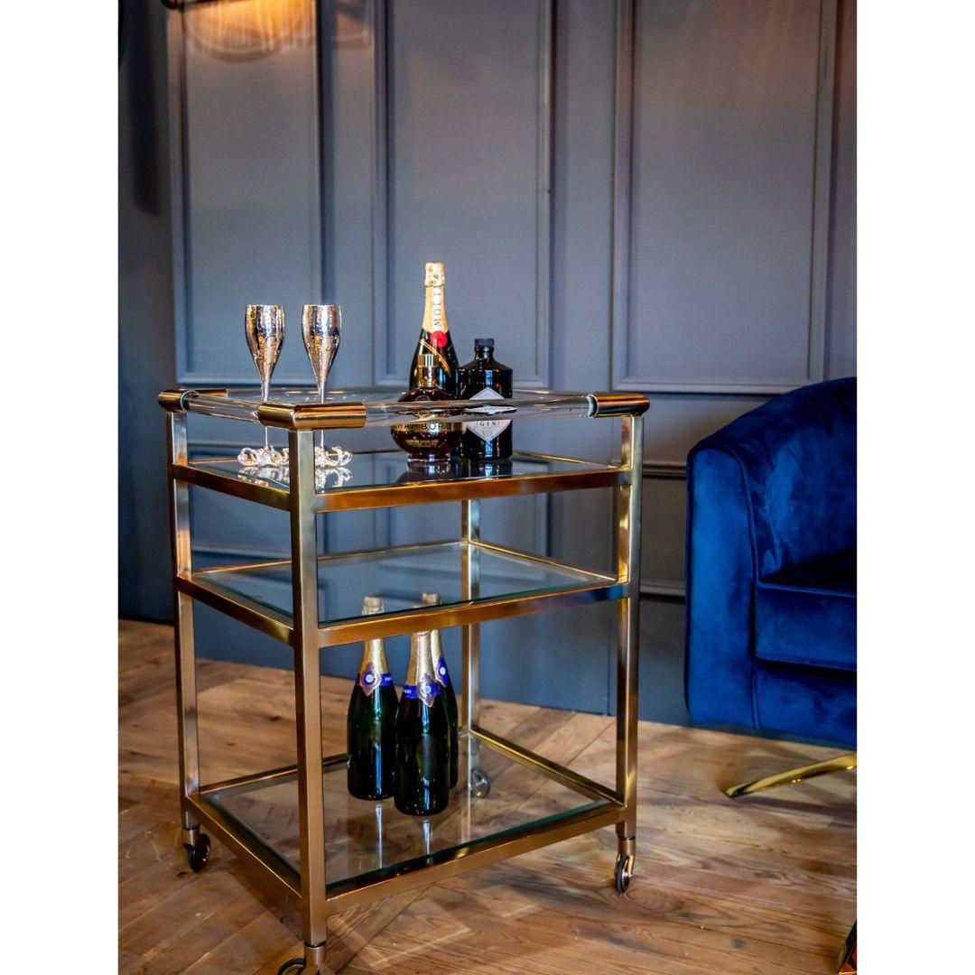 Art Deco Drinks Trolley