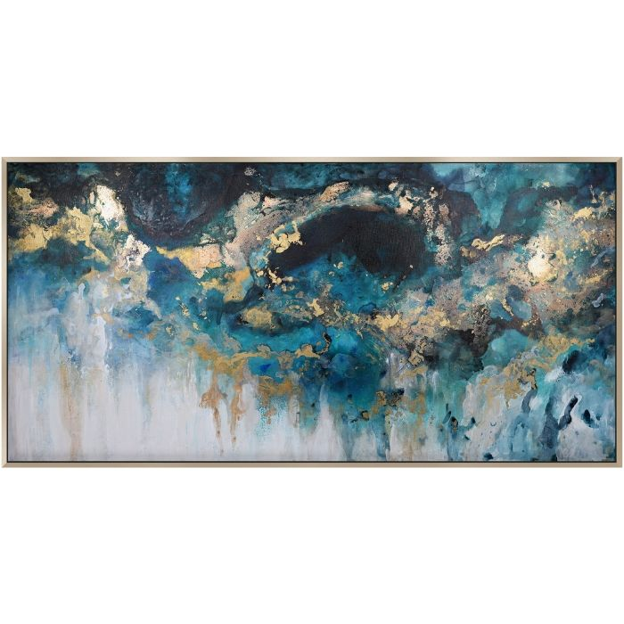 Abstract Storm Landscape