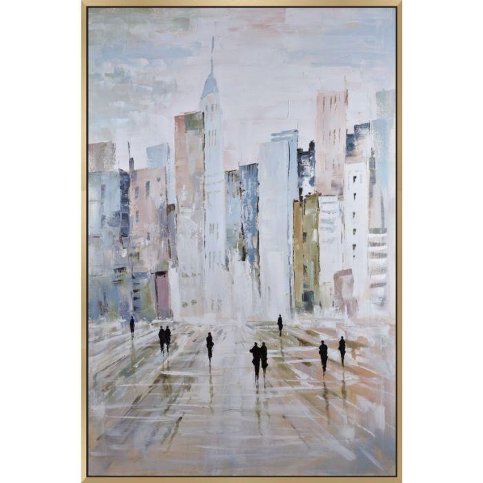 Oversized Cityscape Canvas