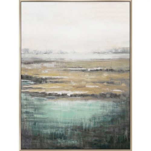 Abstract Calm Landscape