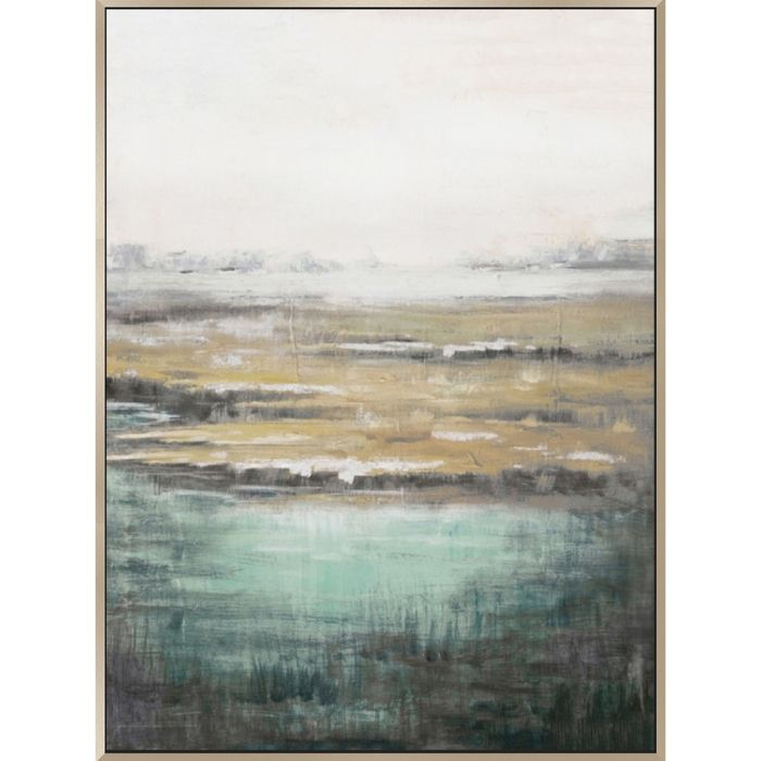 Calm Landscape Abstract Canvas