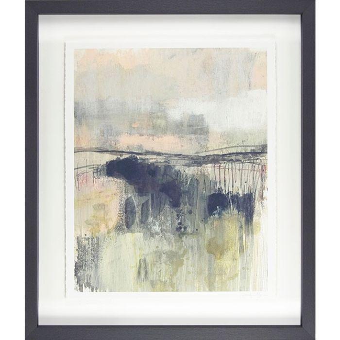 Morning Walk Framed Abstract Print 2