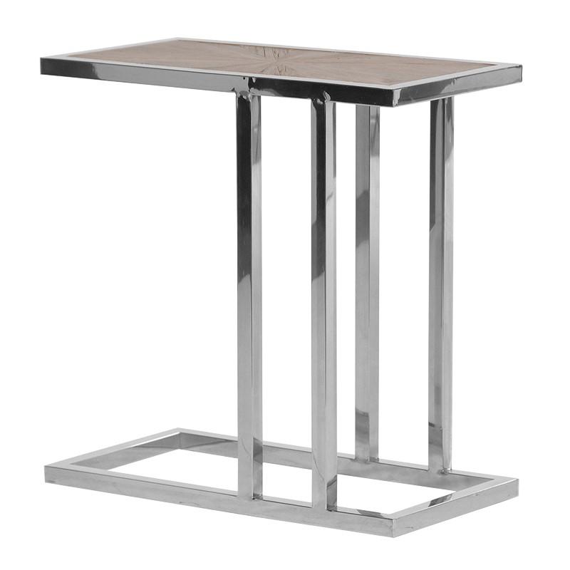 Decorative Elmwood Side Table