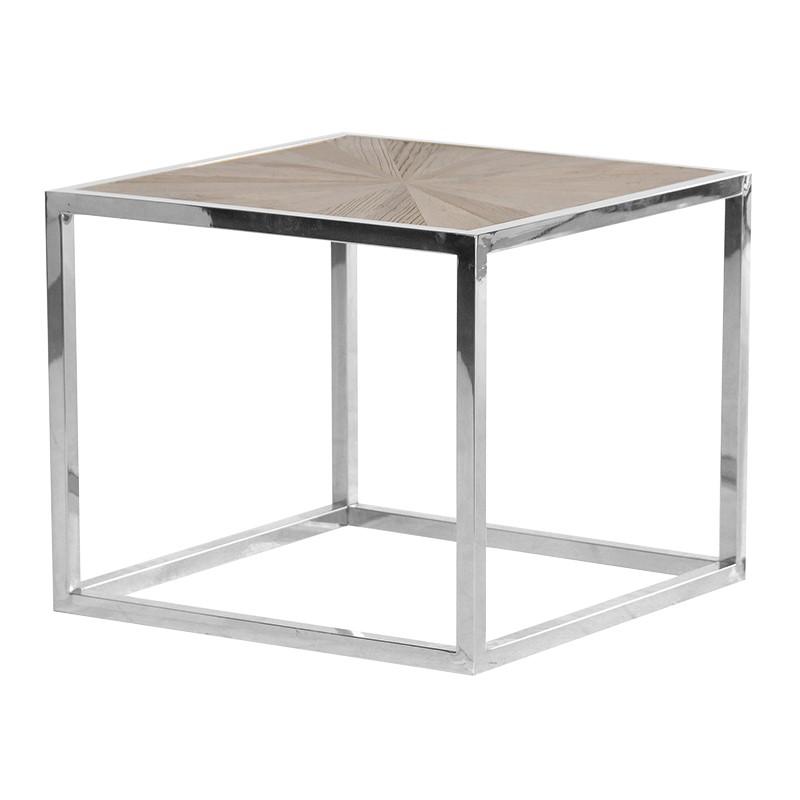 Decorative Elmwood End Table