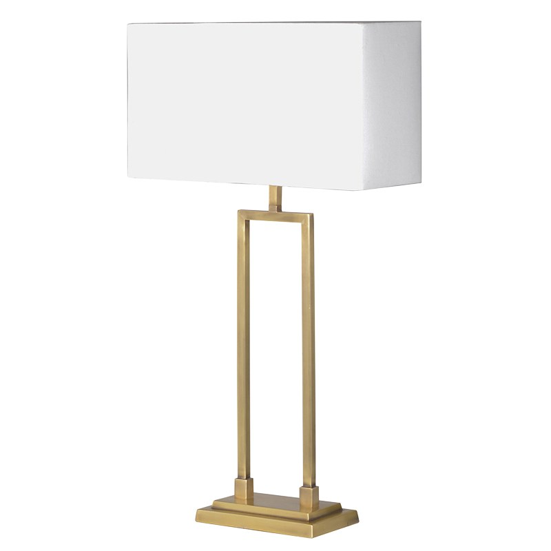 Modern Brass Table Lamp