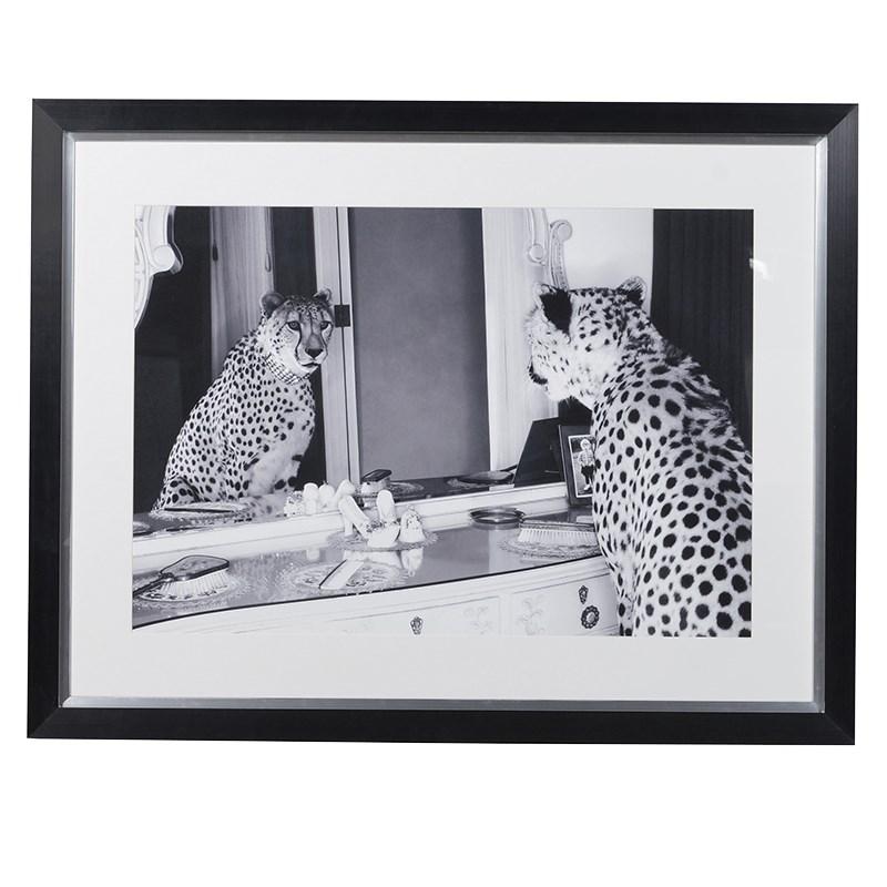 I Am Beautiful- Big Cat Framed Print