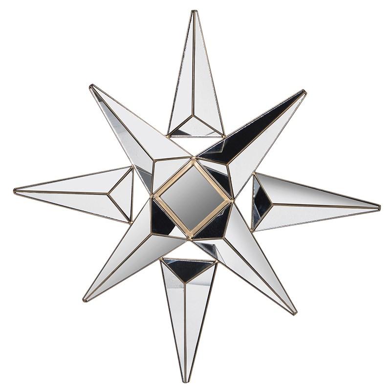 Glass Star Mirror