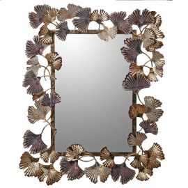 Chinese Leaf Wall Mirror