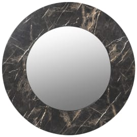 Marble Effect Mirror And Coffee Table Set