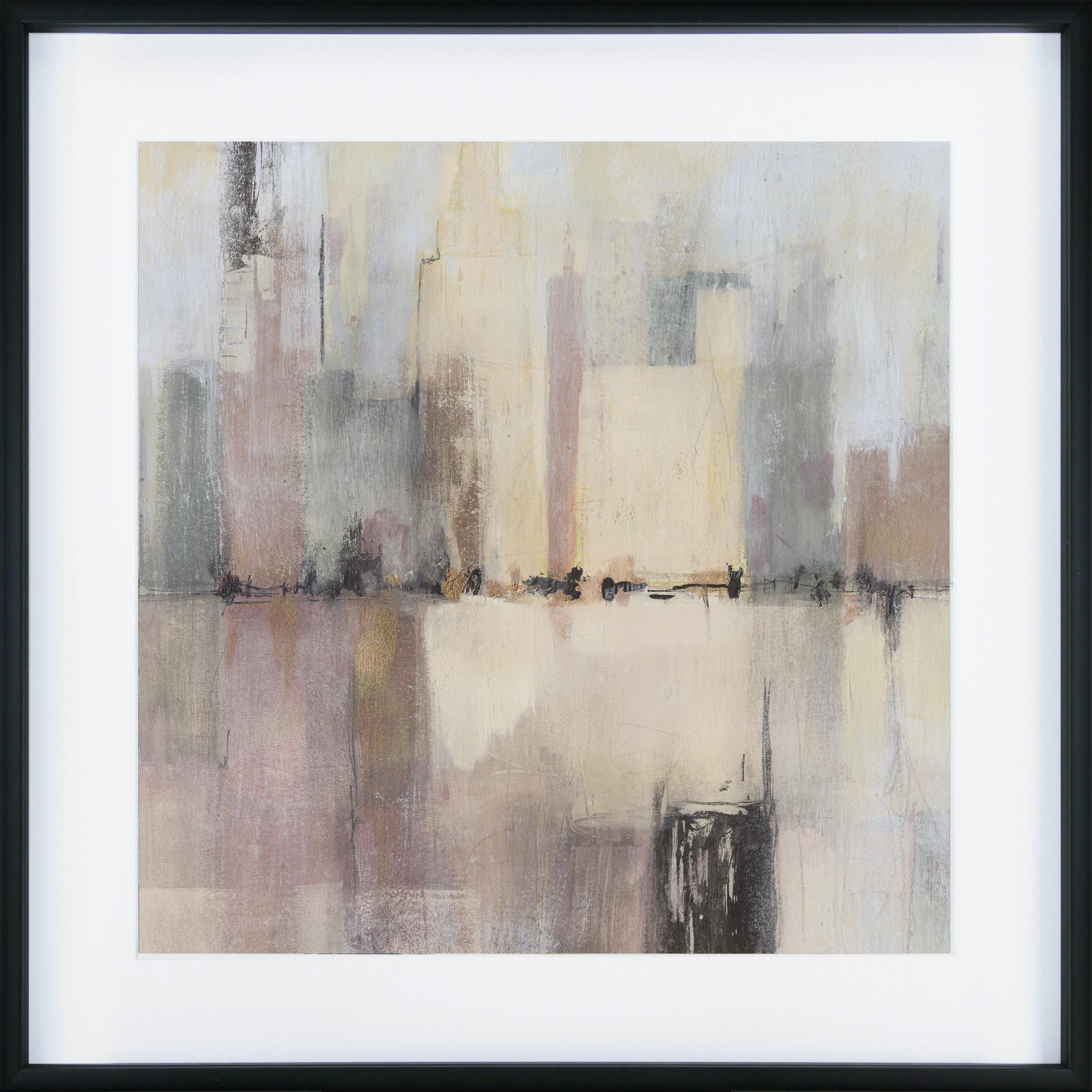 CA8852 A&B city abstract set